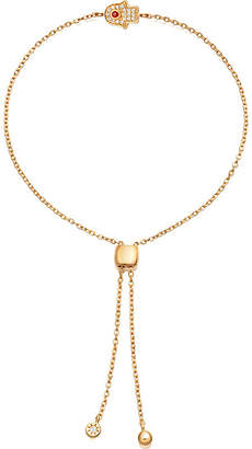 Astley Clarke Mini Hamsa Kula 18ct gold-plated sterling silver bracelet
