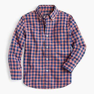 J.Crew Kids' oxford shirt in oversized gingham