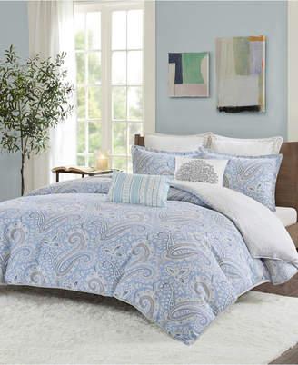 Echo Bukhara Full/Queen 3 Piece Reversible Cotton Duvet Cover Set Bedding