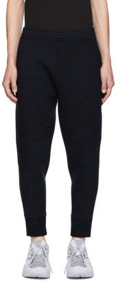 Neil Barrett Navy Modernist Bonded Soft Lounge Pants
