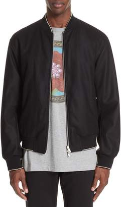 Dries Van Noten Vulker Reversible Bomber Jacket
