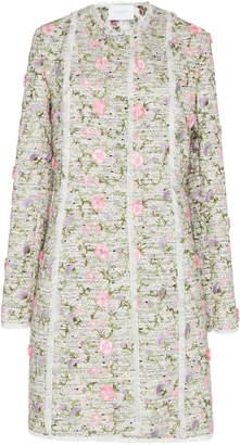 Giambattista Valli Floral Embroidered Coat
