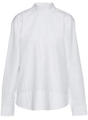 Marni Open-Back Cotton-Poplin Top