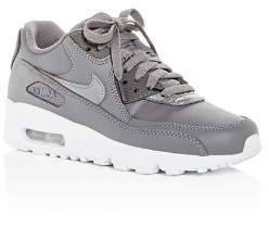 Nike Girls' Air Max 90 Leather Lace Up Sneakers - Big Kid