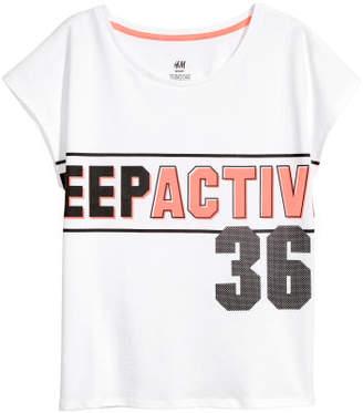 H&M Sports Top - White