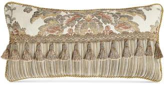 "Croscill Nadalia 22"" x 11"" Boudoir Decorative Pillow"