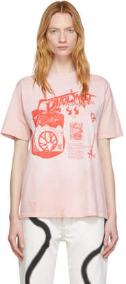 Ottolinger Pink Logo Graphic T-Shirt