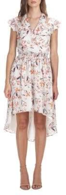 Adelyn Rae Tiffany Floral Hi-Lo dress