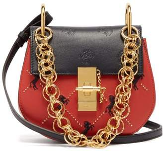 Chloé Drew Bijou Mini Cross Body Bag - Womens - Red Multi