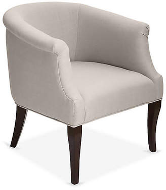 One Kings Lane Selby Club Chair - Stone Linen