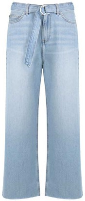 Mint Velvet Madison Belted Wide Leg Jeans