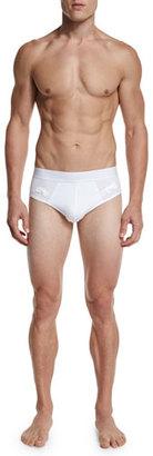 Frigo Mesh Stretch Briefs, White $36 thestylecure.com