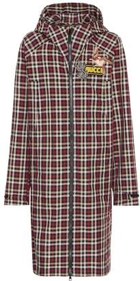 Gucci Plaid coat