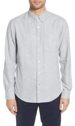 Club Monaco Slim Fit Flannel Button-Down Shirt