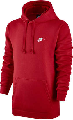 Nike Men's Pullover Fleece Hoodie $45 thestylecure.com