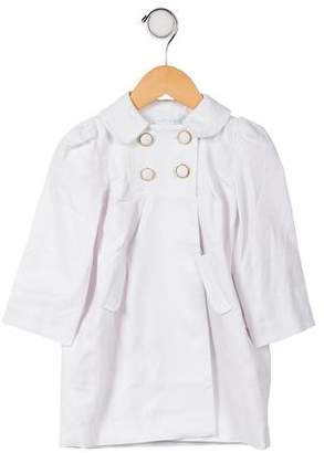 Marie Chantal Girls' Double-Breasted Coat w/ Tags