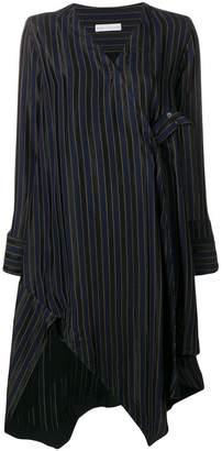 Palmer Harding Palmer / Harding Finale striped fringed dress