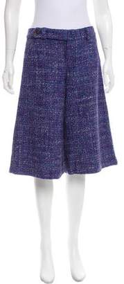 Marc by Marc Jacobs Tweed Mid-Rise Culottes