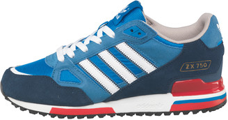 low priced 8f5a0 08dcd ... wholesale at mandmdirect adidas mens zx 750 trainers bluebird white  dark slate 396f5 056e9