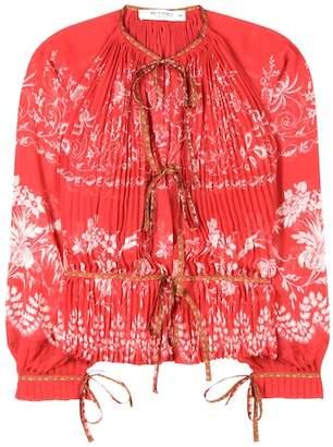 Etro Printed chiffon blouse