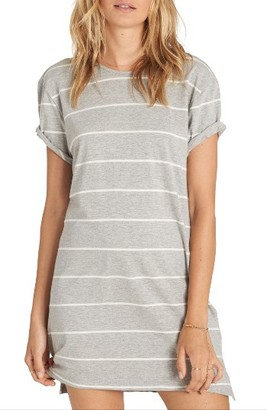Women's Billabong Down Time Stripe T-Shirt Dress $39.95 thestylecure.com