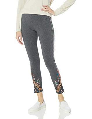 Johnny Was JWLA By Women's Embroidered Legging,XS