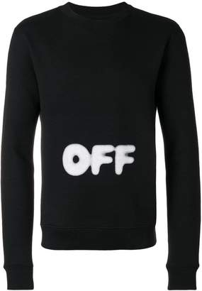 Off-White printed sweatshirt
