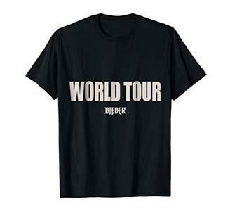 Justin Bieber Mens World Tour T-Shirt