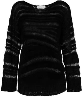 Dondup distressed long-sleeve sweater