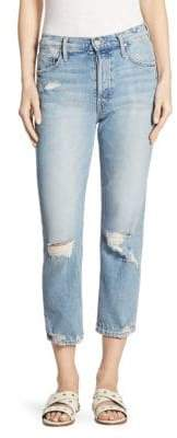 Mother Women's Tomcat Distressed Wash Jeans - The Confession - Size 25 (2)