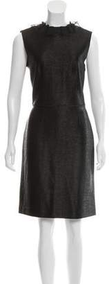 Viktor & Rolf Lace-Trimmed Sheath Dress