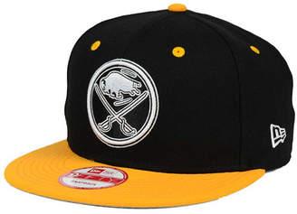 New Era Buffalo Sabres Black White Team Color 9FIFTY Snapback Cap
