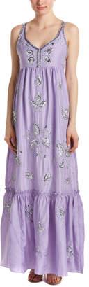 Calypso St. Barth Jomeri Silk Maxi Dress