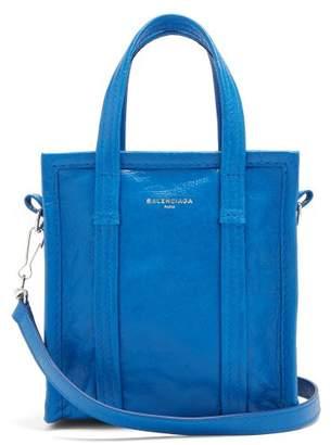 Balenciaga Bazar Shopper Xxs - Womens - Blue