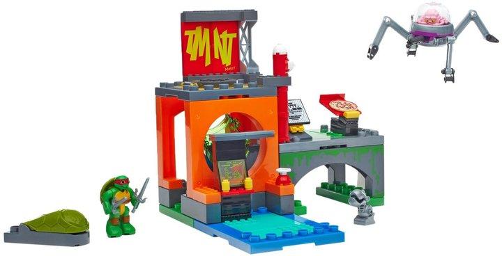 Mega Bloks Teenage Mutant Ninja Turtles Half-Shell Heroes Lair Battle Playset Building Kit