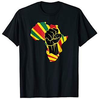 Africa Power Africa Map Fist African T-Shirt