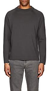 Second / Layer Men's Merino Wool Mock-Turtleneck Sweater-Gray Size S