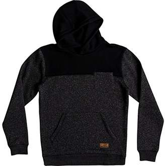 Quiksilver Men's Keller Block Hood Fleece Pullover