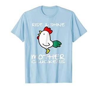 Chicken Gifts Farmer Backyard Chick Hen Rooster Shirt Men