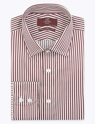 M&S CollectionMarks and Spencer Sateen Striped Shirt