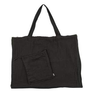 Numero 74 Cotton shopping bag and envelope - Anthracite Gray