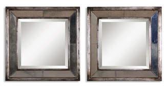 Uttermost Set of 2 Davion Square Mirror