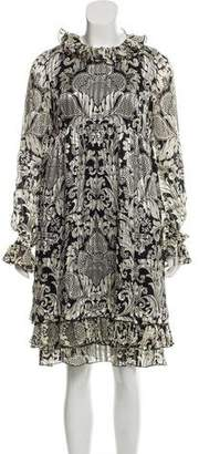 Anna Sui Printed Knee-Length Dress