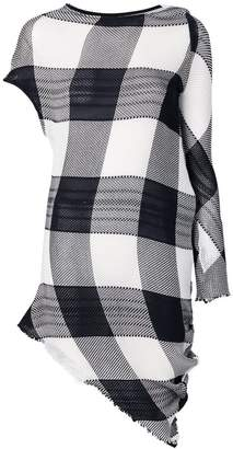 Marques Almeida Marques'almeida checked asymmetric dress