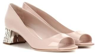 Miu Miu Sandals with embellished heels