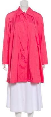 Prada Knee-Length Button-Up Coat w/ Tags