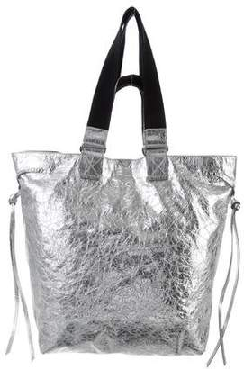 Isabel Marant Metallic Leather Tote