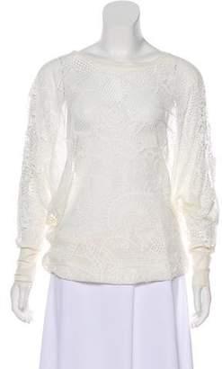 Jean Paul Gaultier Soleil Mesh Mini Dress