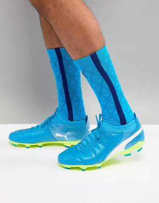 Puma One Soccer Boots 17.2 Firm Ground In Blue 10406803