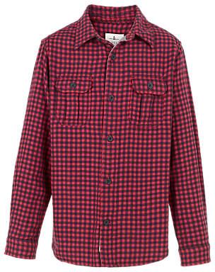 Boys' Raley Gingham Shirt, Red